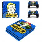 Fallout 76 Vinyl Skin Sticker for Sony PlayStation 4 Pro