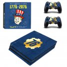 Fallout 76 Decal Skin Sticker for Sony PlayStation 4 Pro