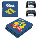 Decal Fallout 76 Skin Sticker for Sony PlayStation 4 Pro
