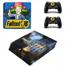 Decal Fallout Skin Sticker for Sony PlayStation 4 Pro