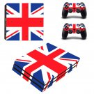 Vinyl Decal England Skin Sticker for Sony PlayStation 4 Pro