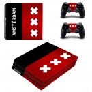 Amsterdam Vinyl Decal Skin Sticker for Sony PlayStation 4 Pro