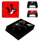 Vinyl Persona 5 Decal Skin Sticker for Sony PlayStation 4 Pro