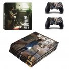 Last Of Us Vinyl Decal Skin Sticker for Sony PlayStation 4 Pro