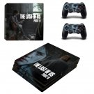 Vinyl Last Of Us Decal Skin Sticker for Sony PlayStation 4 Pro