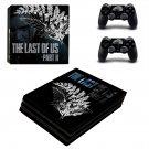 Vinyl Last Of Us Skin Sticker for Sony PlayStation 4 Pro
