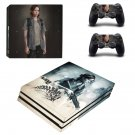 The Last Of Us Decal Skin Sticker for Sony PlayStation 4 Pro