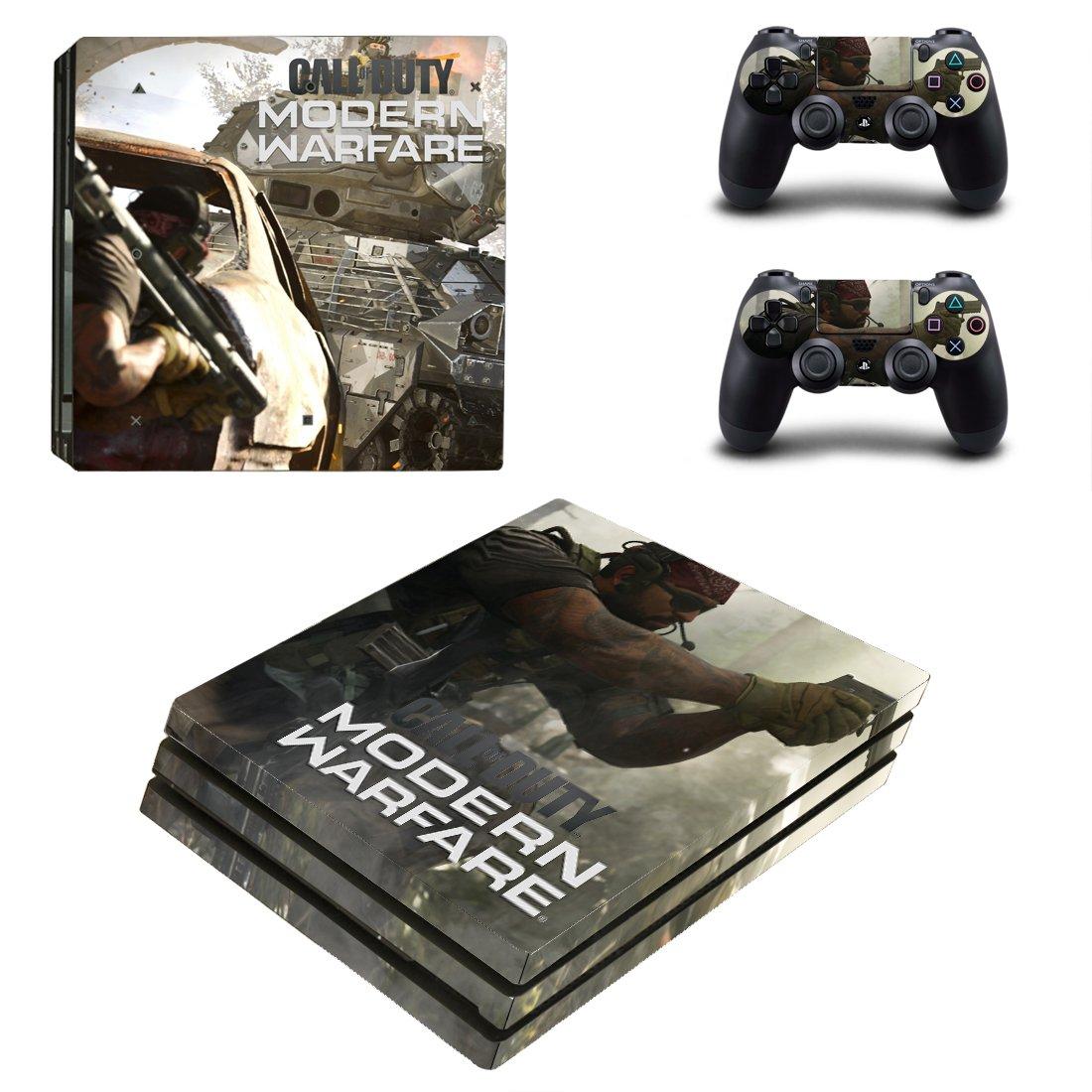 Vinyl Modern Warfare Decal Skin Sticker for Sony PlayStation 4 Pro