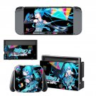 Hatsune Miku Vinyl Decal Skin Sticker for Nintendo Switch Console and 2 Controllers