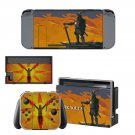 Dark Souls Decal Skin Sticker for Nintendo Switch - Console and 2 Controllers