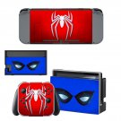 Spiderman Decal Skin Sticker for Nintendo Switch - Console and 2 Controllers