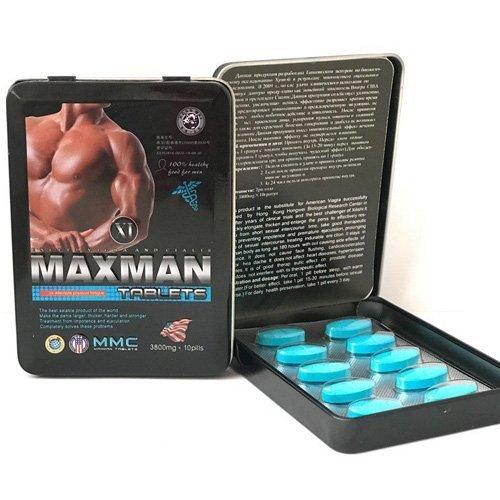 Maxman VI Natural Men Enhancement 1 Box / 10 Pills