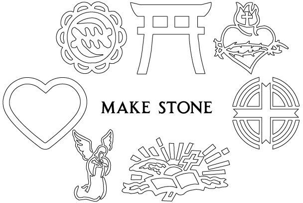 GovMakeStone, Creates Sandblast Artwork for A-L1, A-F1, A-NCIS-1, A-U1-1,  A-U1-2, Free demo