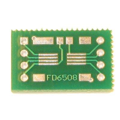 8pin SSOP/TSSOP to DIP Prototype Adapter/Converter (FD6508)