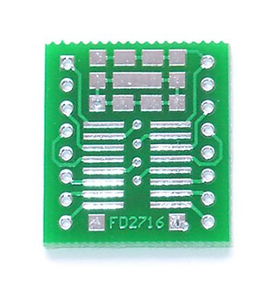 16pin SOIC to DIP Prototype Adapter/Converter (FD2716)