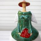 One of a kind whimsical angel statue home decor,Fancy Madame Angel IV
