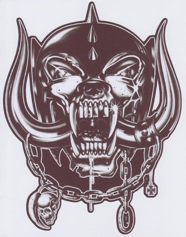 "Motorhead Warpig - Hi Gloss Sticker - 6 1/2"" Height x 5"" Width"