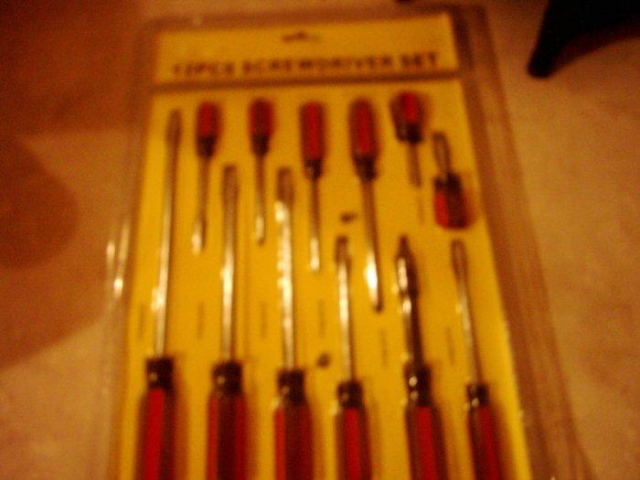 12 piece screwdriver set