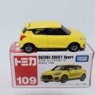 Takara Tomy Tomica Diecast Car Scale 1:60 #109 Suzuki Swift Sport Yellow