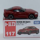 Takara Tomy Tomica Diecast Car Scale 1:60 #117 Toyota GR Supra Red