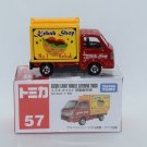 Takara Tomy Tomica Diecast Model Scale 1:55 #57 Suzuki Carry Mobile Catering Truck