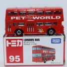 Takara Tomy Tomica Diecast Model Scale 1:130 #95 London Bus
