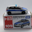 Takara Tomy Tomica Diecast Model Scale 1:62 #109 Volkswagen Polo Police Car