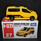 Takara Tomy Tomica #27 Nissan NV200 Taxi (Special First Edition) Scale 1:62 Retired Diecast Model