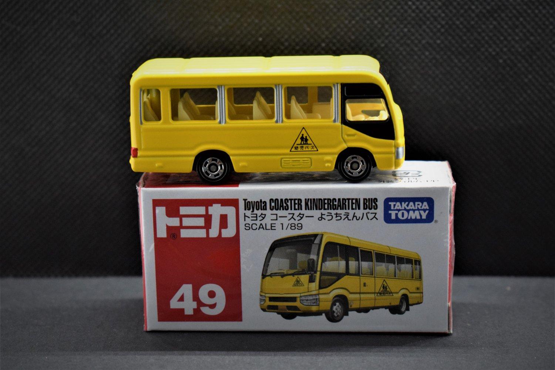 Takara Tomy Tomica #49 Toyota Coaster Kindergarten Bus Diecast Model