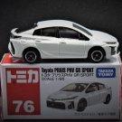 Takara Tomy Tomica Retired Diecast Model Car #76 Toyota Prius PHV GR Sport Scale 1.65