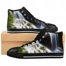 Amazing Nature Waterfall Unique Custom High Quality Men, Women High-top Sneakers Shoes-Free Shipping