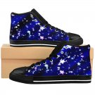 Night Star Sky Graphic Custom High Quality Men, Women High-top Sneakers Shoes-Free Shipping
