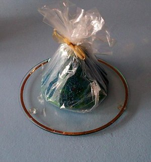 Handmade Bell Candle