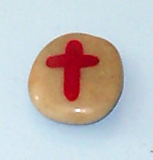 Hand Crafted Cross Rock