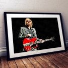 Tom Petty 13 x 19 Inch Canvas Poster Fine Art Color Print landscape Unframed Print