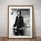 Sid Viscous 13 x 19 Inch Canvas Poster Fine Art Black And White Print Portrait Print Unframed