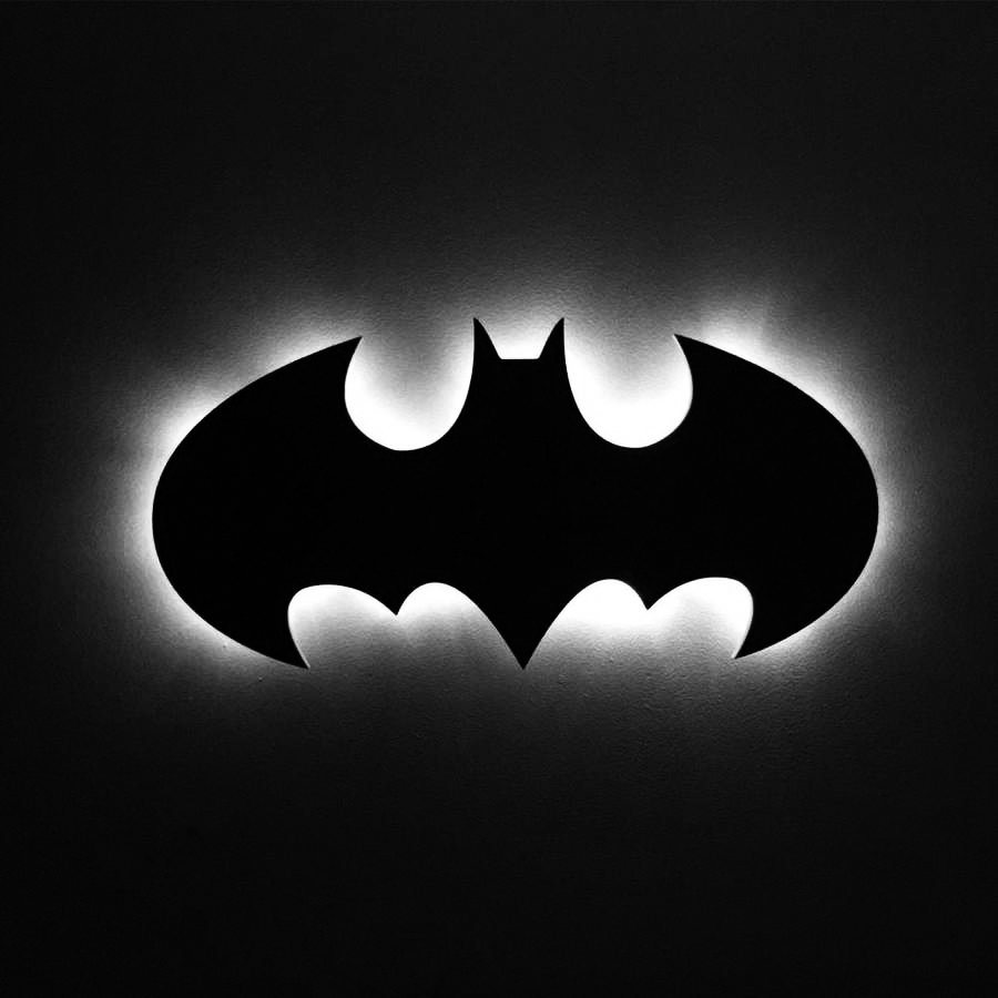 Batman Led Light,Batman Wall Light,Batman Wall Decor,Batman Sign Light