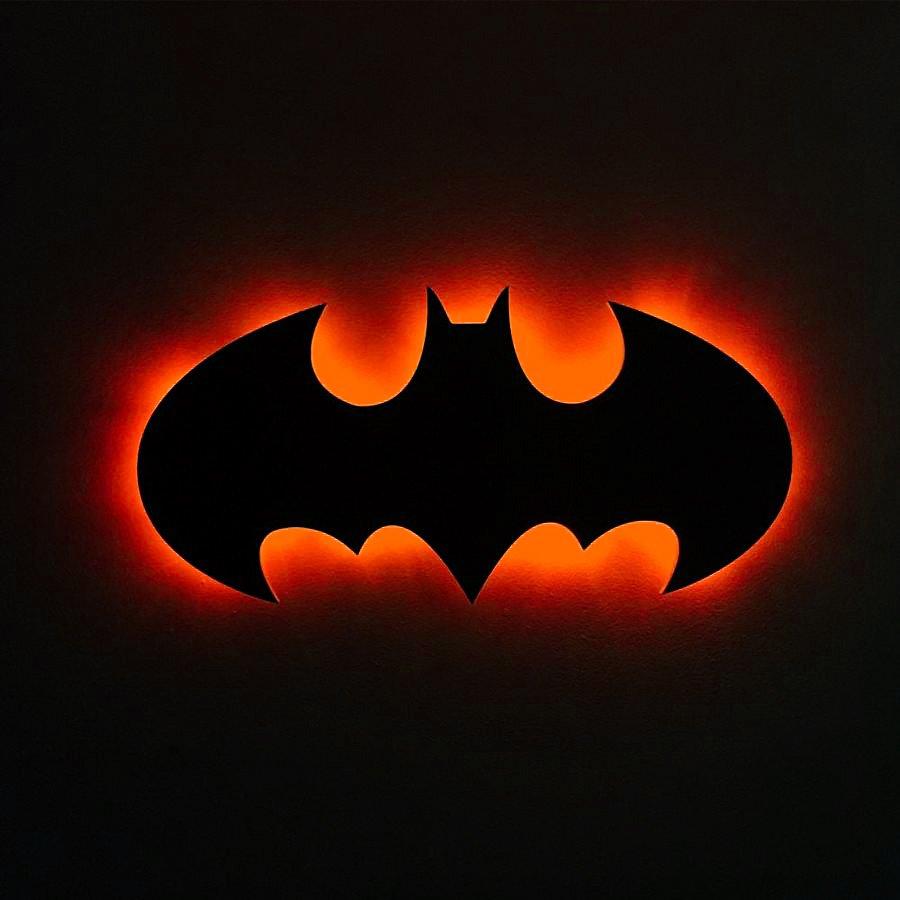 Batman Led Light,Batman Wall Light,Batman Wall Decor,Batman Sign Light