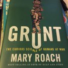 signed by author See photos - Grunt: The Curious Science of Humans at War