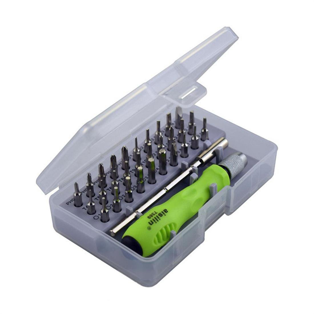 31 in One Interchangeable Screwdriver Set Mini Electronic Repair Tools 7389C
