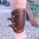 Handmade Leather Wrist Gauntlets Cuff Sheath Arm Bands Renaissance Pirate Costume Punk