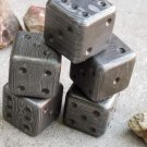 1'' Damascus Dice Per Dice 30 Dollar Hand Forged Steel / Damascus Steel / Reenactment Gift