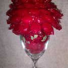 Christmas Goblet Candy Bouquet