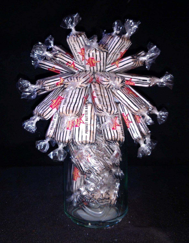 Peanut Butter Bar Candy Bouquet