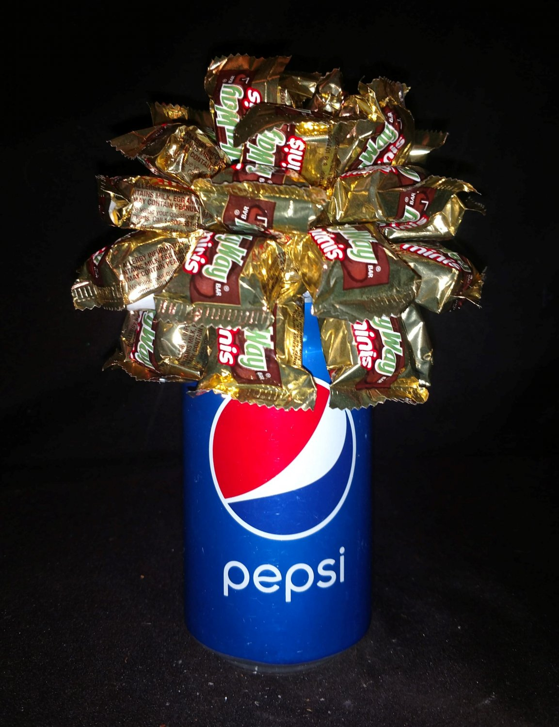 Pepsi Candy Bouquet