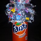 Orange Fanta Candy Bouquet