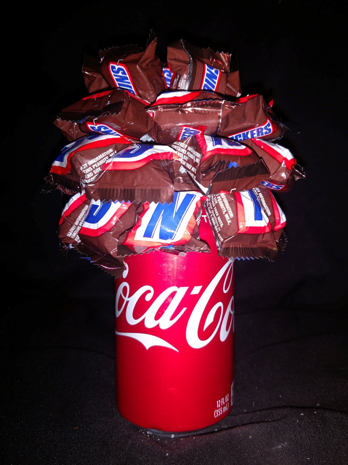 Coca Cola Candy Bouquet