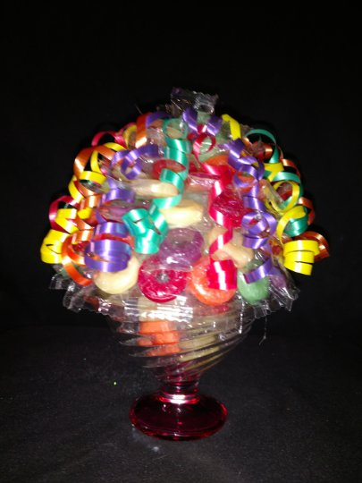 Life Saver Candy Bouquet