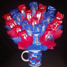 Mounds and Almond Joy Candy Bouquet