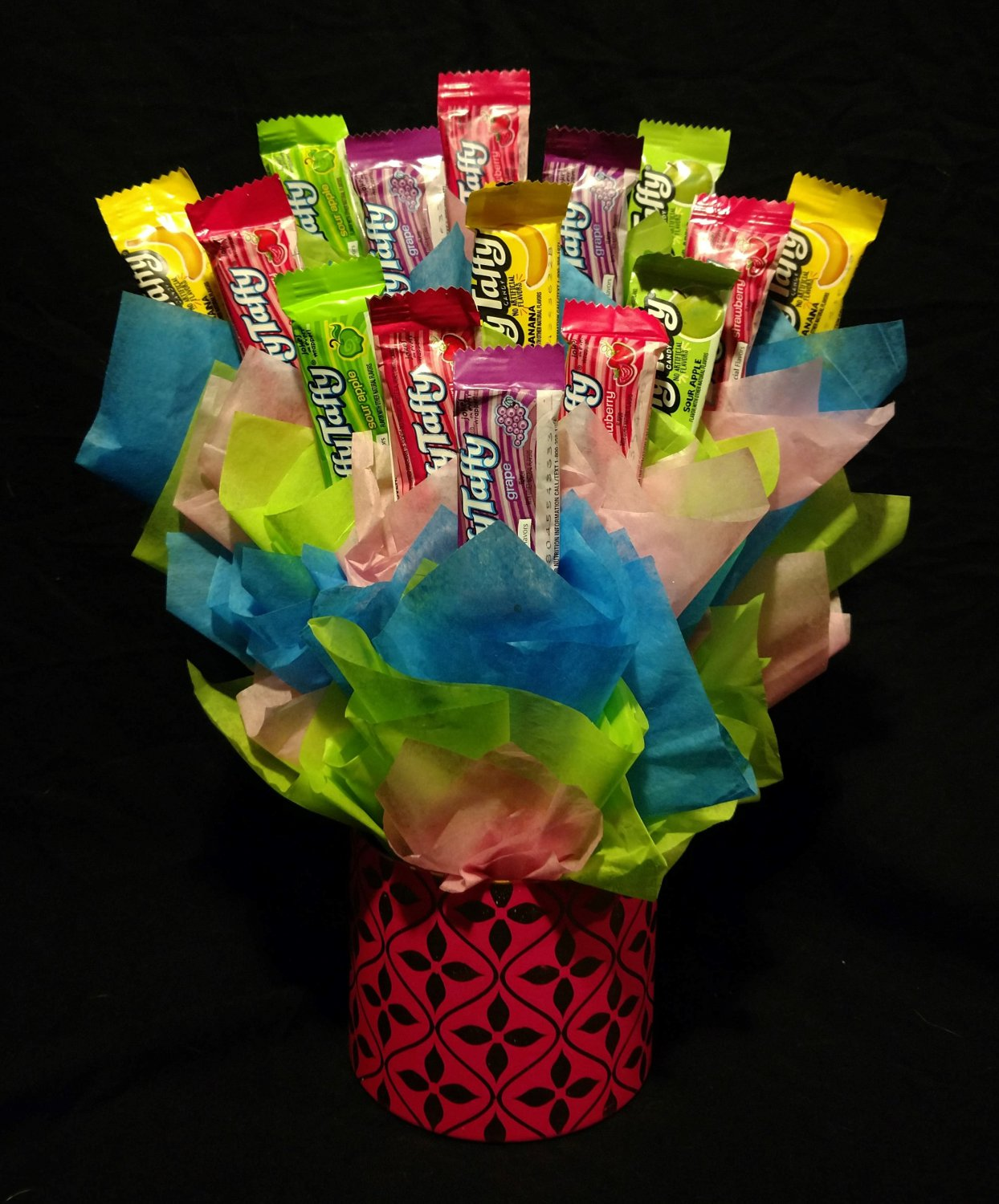 Laffy Taffy Candy Bouquet
